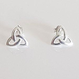 Celtic Design Sterling Silver Stud Earrings